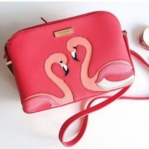 Kate Spade Flamingo Crossbody bag purse